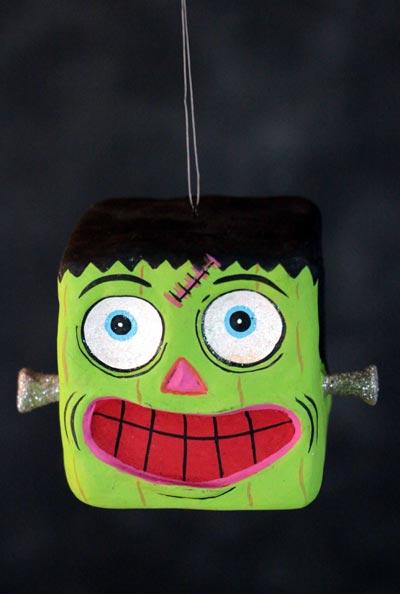 Spooky Kooks Ornament - Frankenstein