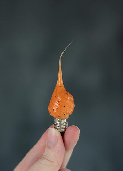 Pumpkin Spice Scented Silicone Light Bulb (Tiny Tim)