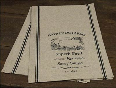 Happy Hog Farms 48 inch Table Runner