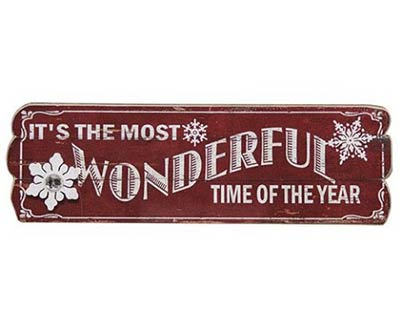 Most Wonderful Time Sign