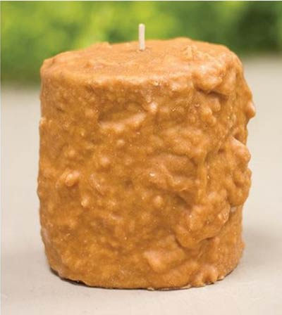 Gingerbread Apple Cake Candle