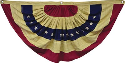 Large Colonial Flag Bunting