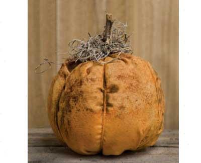 Grungy Primitive Orange Pumpkin