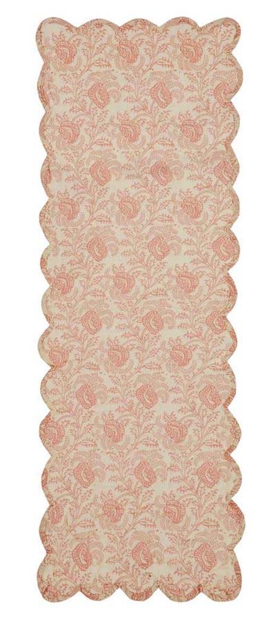Genevieve Quilted Tablerunner, 36 inch