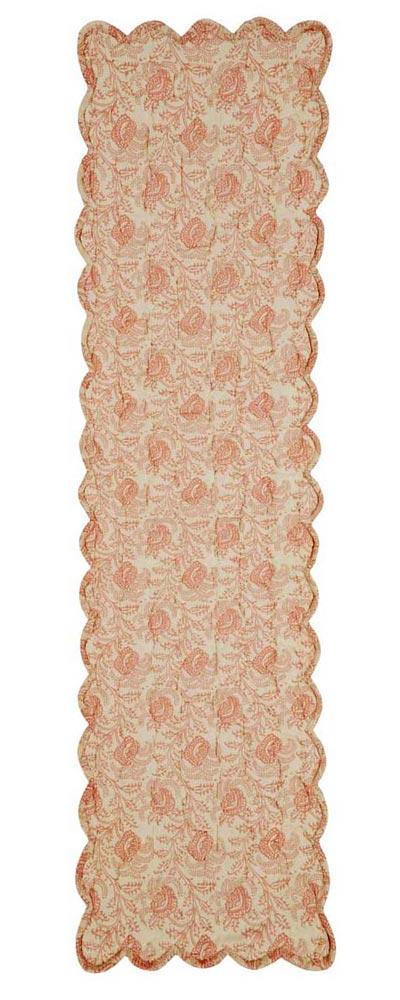 Genevieve Quilted Tablerunner, 48 inch