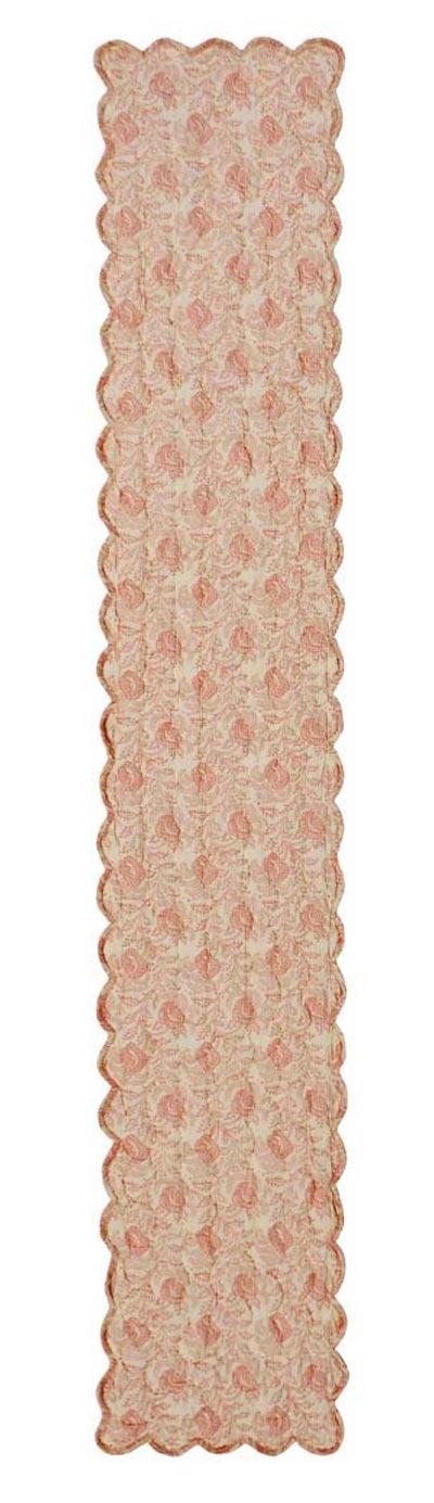 Genevieve Quilted Tablerunner, 72 inch