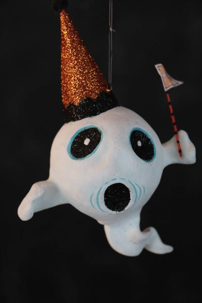 Spooky Kooks Ornament - Ghost