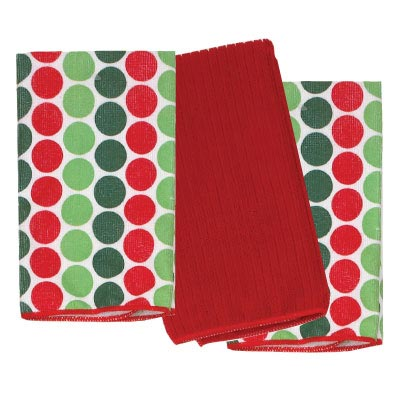 Home for the Holidays Microfiber Towels (Set of 3)
