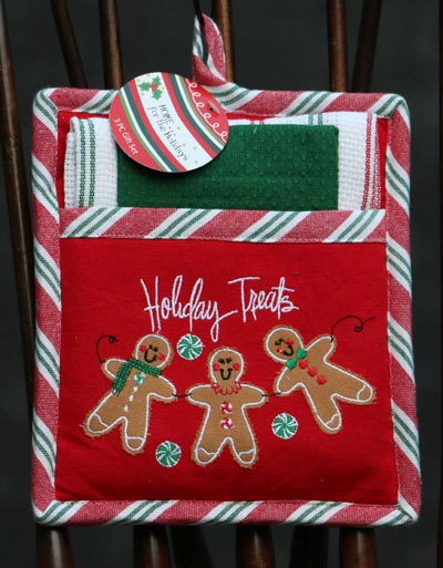 Gingerbread Pot Holder Set