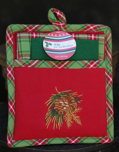 Woodland Pinecone Gift Set