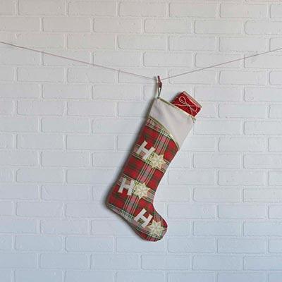 HO HO Holiday 20 inch Stocking