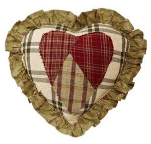 Heartland Heart Pillow