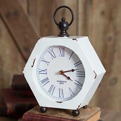 Hexagon Desktop Clock