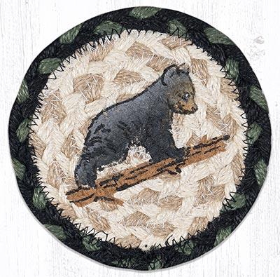Bear Cub Braided Coaster