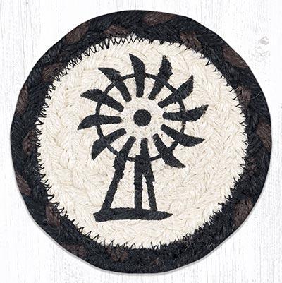 Windmill Braided Coaster