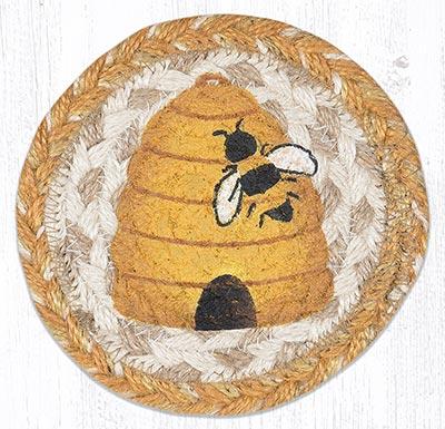 Beehive Braided Coaster