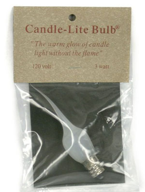 Candle Lite Bulbs [3 watt - Medium]