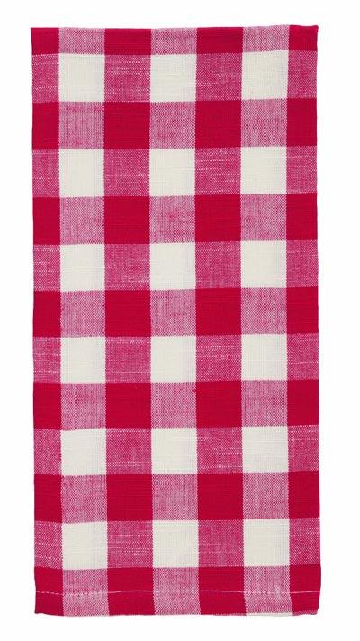 Picnic Red Check Dishtowel