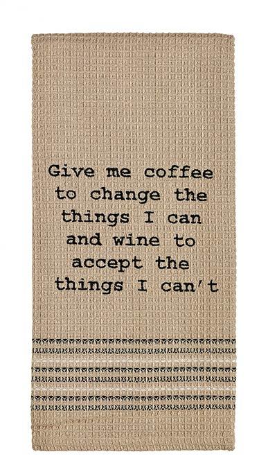 Coffee & Wine Dishtowel
