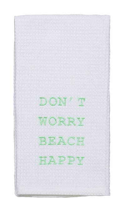 Beach Happy Dishtowel