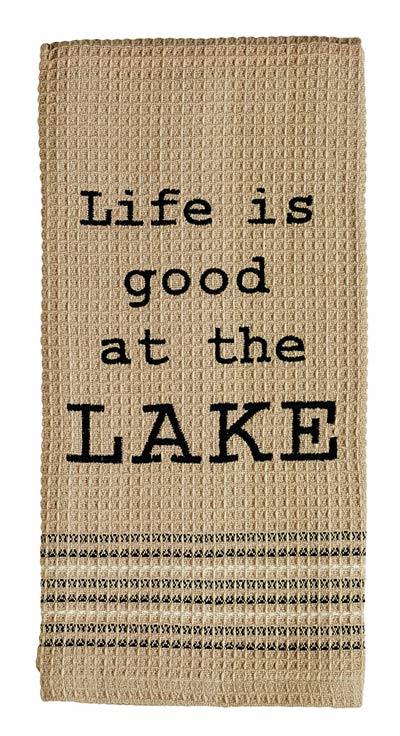 At the Lake Dishtowel