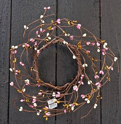 Blossom Pip Berry Candle Ring - 3.5 inch