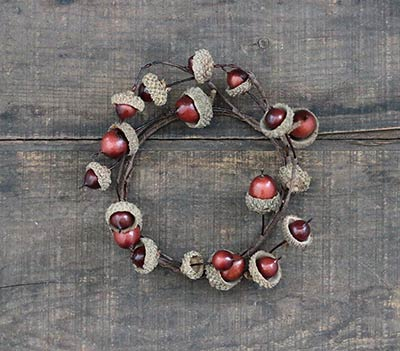 Acorn Candle Ring