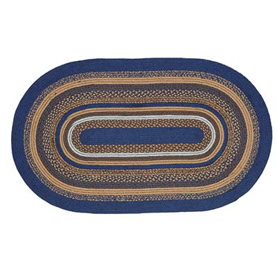 Jenson Braided Rug, Oval (3 x 5 foot)