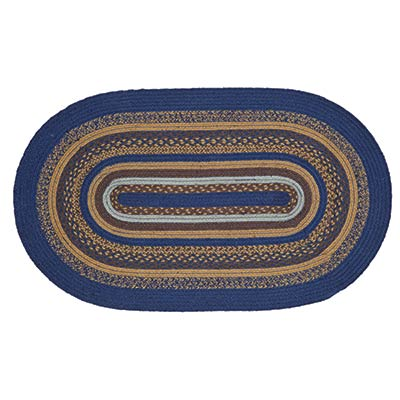 Jenson Braided Rug, Oval (27 x 48 inch)