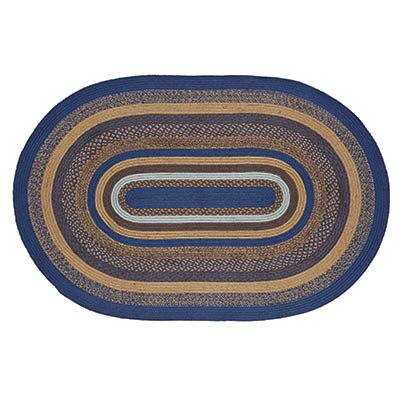 Jenson Braided Rug, Oval (4 x 6 foot)
