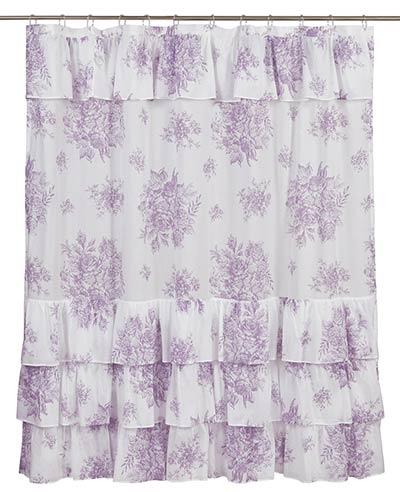 Josephine Orchid Shower Curtain