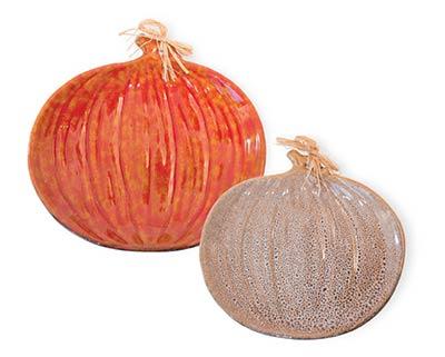 Autumn Days Pumpkin Plate