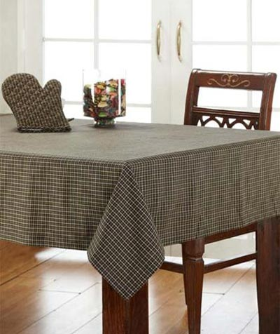 Kettle Grove Plaid Tablecloth, 60 x 102