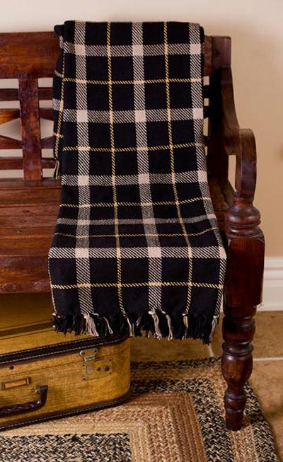 Kettle Grove Woven Throw - Plaid