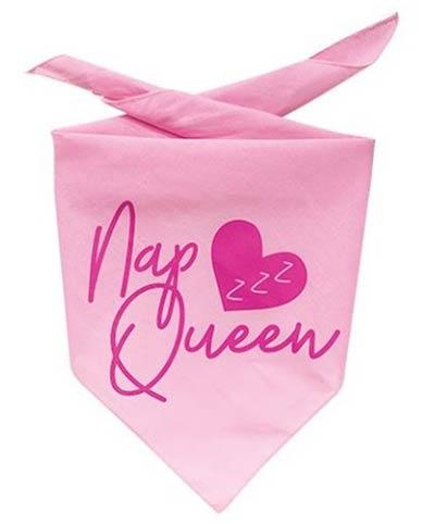 Nap Queen Dog Bandana