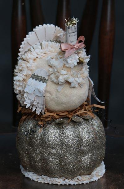Harvest Turkey On Pumpkin