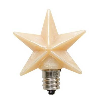Star Silicone Warm Bulb - 1.5 inch
