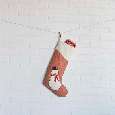 Let It Snow 20 inch Stocking