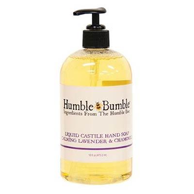 Lavender & Chamomile Castile Hand Soap