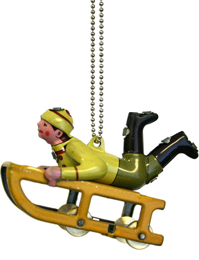 Sledder Ornament