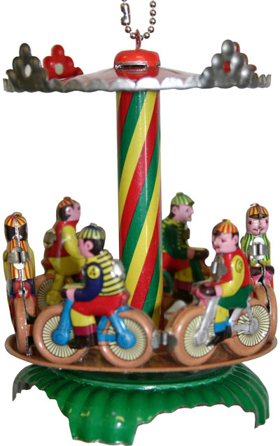 Bike Carousel Ornament