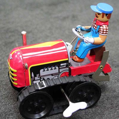 Wind Up Tractor