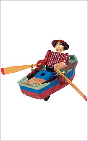 Wind Up Rowboat
