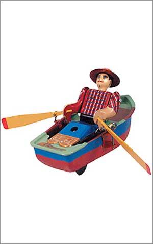 Wind Up Rowboat