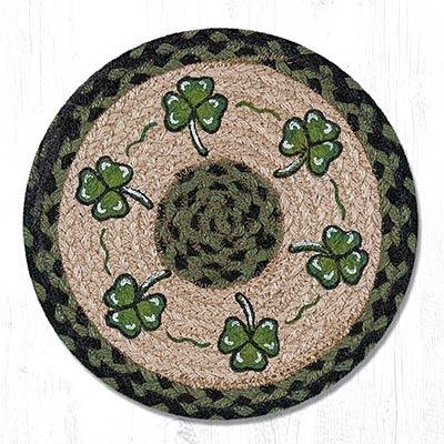 Shamrock Braided Tablemat - Round (10 inch)