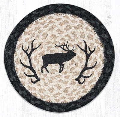 Elk Silhouette 10 inch Tablemat