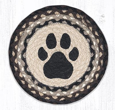 Dog Paw 10 inch Tablemat
