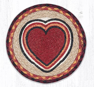 MSPR-471 Bow Wow Heart 10 inch Tablemat