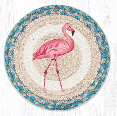 MSPR-586 Pink Flamingo 10 inch Tablemat