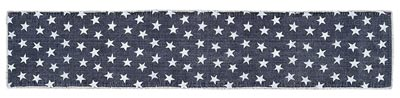 Multi Star Navy Tablerunner, 72 inch